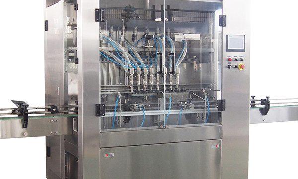 מכונת מילוי נוזלית לשטיפת כלים