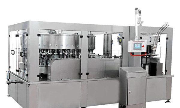 אלומיניום יכול מכונת מילוי למשקה אנרגיה שתייה קלה