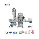מכונת ציפוי בקבוק זכוכית אוטומטית מלאה לשמפו