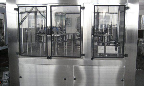 מכונת מילוי פנאומטית מכונת מילוי נוזלית קטנה, מחיר מכונת מילוי אוטומטית למחצה