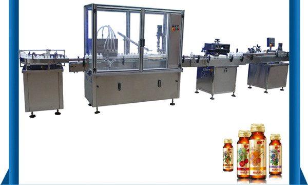 ספק סין מכונת מילוי נוזל בקבוק דבש אוטומטית
