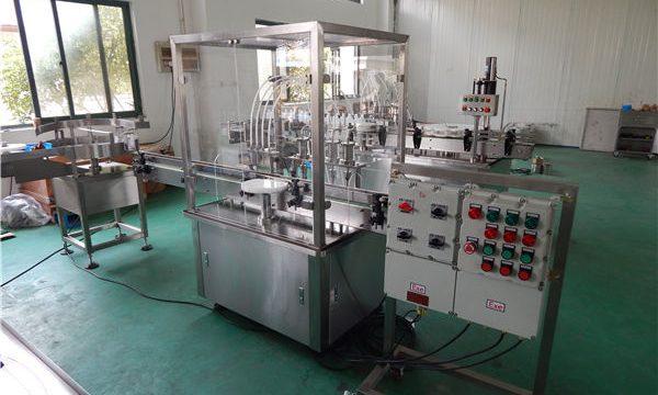 מכונת מילוי נוזלית אוטומטית בעלת צמיגות גבוהה