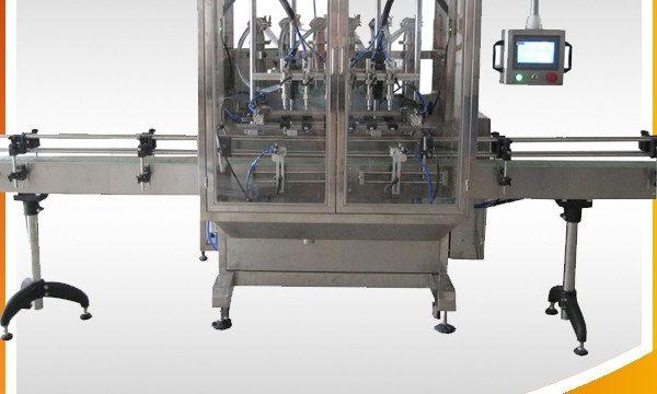 מכונת מילוי נוזלי בקבוק הצפת כוח משיכה אוטומטית