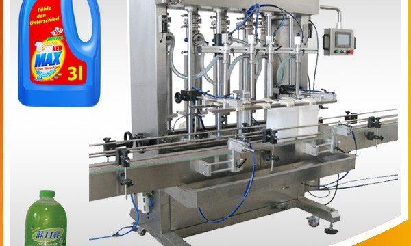 מכונת מילוי נוזל בעלת בוכנה אוטומטית מלאה כפולה