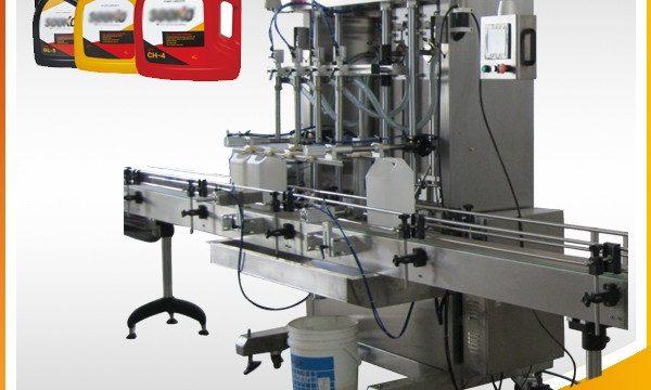 מכונת מילוי דטרגנטית נוזלית אוטומטית 500 ml-2L / מכונת מילוי נוזלית לשטוף