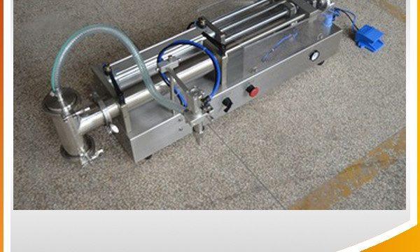 מכונת מילוי בוכנה למחצה אוטומטית למילוי שמן אידיאלי