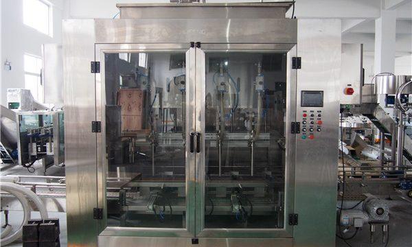 מכונת מילוי שמן אוטומטית ומכונת אריזת שמן זית
