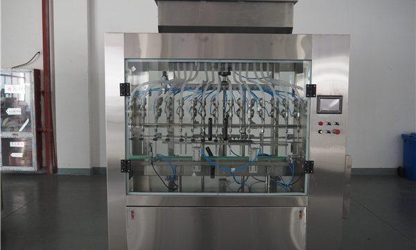 מכונת מילוי נוזלית בלחץ אטמוספרי אוטומטית