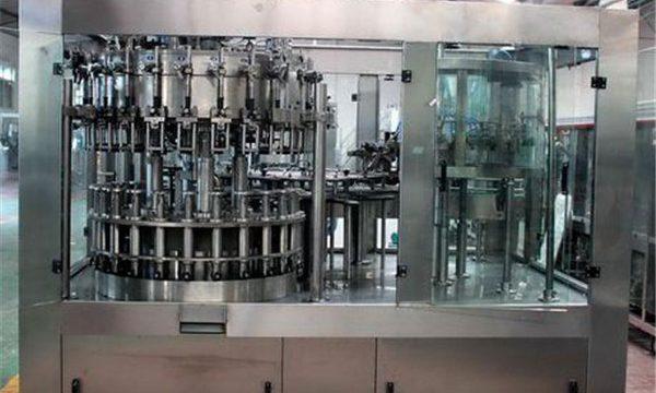 מכונת מילוי נוזלית אוטומטית נירוסטה לשמן / מים מטוהרים
