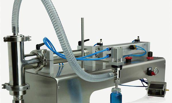 מכונת מילוי שמן סיכה פנאומטית עם בקרה כפולה