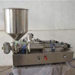 מכונת מילוי שמן ידנית למחצה אוטומטית
