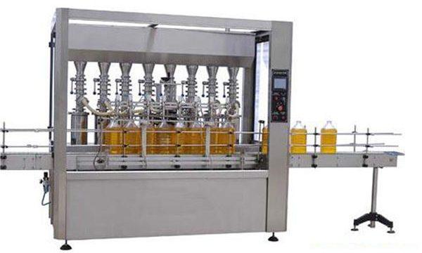 מכונת מילוי שמן סיכה / שמן מאכל דיוק גבוה 2000ml-5000ml