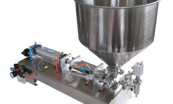 מכונת מילוי דבש חצי אוטומטית לבוכנה