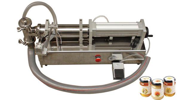 מכונת מילוי דבש בעלת צמיגות גבוהה אוטומטית למחצה