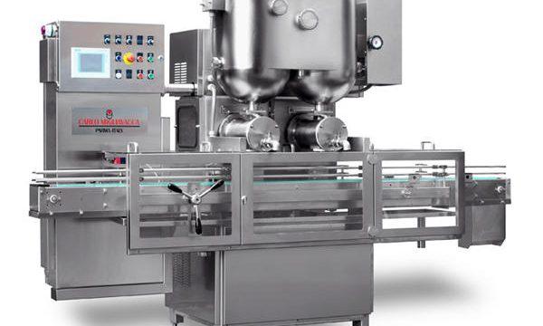 מכונת מילוי ריבה פירותית חצי אוטומטית למחצה