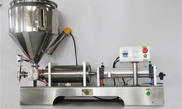 מכונת מילוי ריבת פירות חצי פנאומטית טהורה