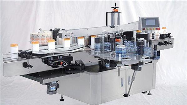 מכונת תווית משטח עליונה בקבוק בושם זכוכית