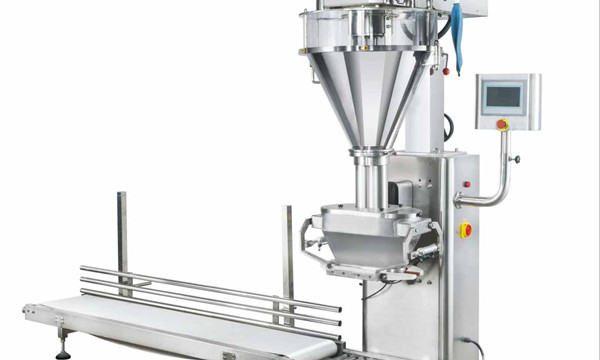 מכונת מילוי אבקה חלבית אוטומטית למחצה