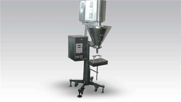 מכונת מילוי אבקת מינון גדולה ידנית