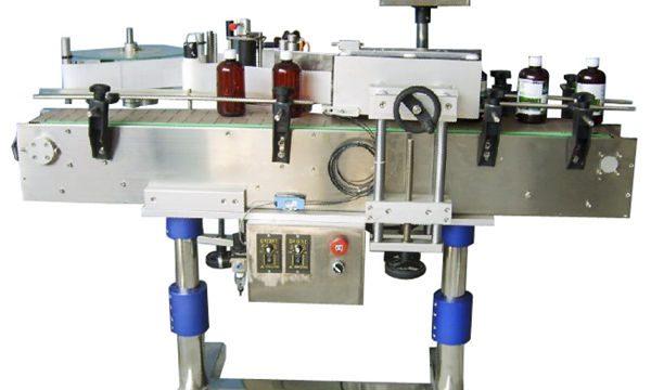 מכונת תיוג מדבקה אוטומטית לבקבוקים לפחיות