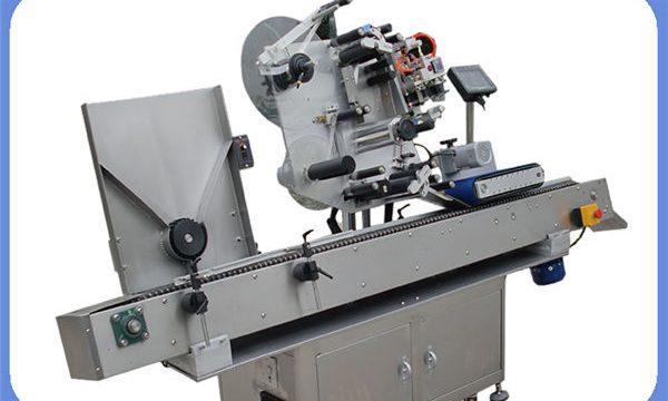 מכונת תיוג מדבקת בקבוקים אוטומטית לסיבוב וריבוע