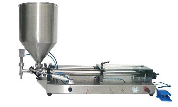 מכונת מילוי קטשופ אוטומטית למחצה