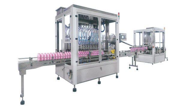 מכונת מילוי שמפו לסבון נוזלי אוטומטי מלא