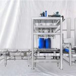 להתאמה אישית סדרת ESDF מכונת מילוי אוטומטית תוף גדול 100-1000L קיבולת