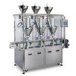 מכונת מילוי אבקת סירופ אוטומטית בהנחה