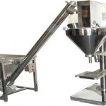 מכונת מילוי אבקה למחצה אוטומטית למחצה