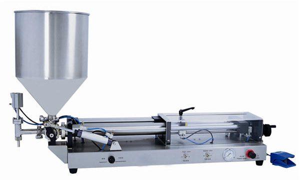 מכונת מילוי הדבק אוטומטית למחצה עבור 3mL-5L