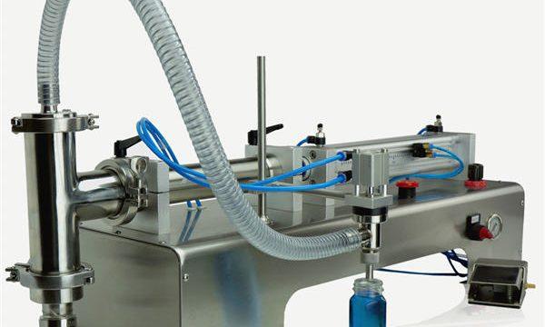 מכונת מילוי בוכנה חצי אוטומטית באיכות גבוהה עיצוב חדש