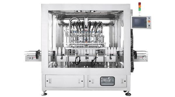 מכונת מילוי נוזל בוכנה