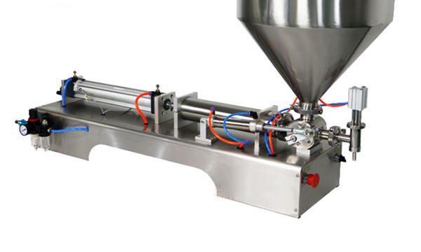 מכונת מילוי רוטב עבה אוטומטית למחצה