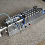 יצרן מכונת מילוי שמפו אוטומטית למחצה